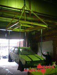Траверса-спредер для подъёма автомобилей