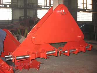 Траверса для монтажа трубопровода с применением ленточных стропов